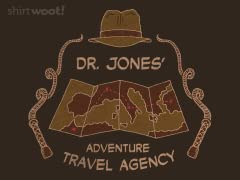 Jones Adventure Travel Agency tee