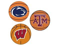"""Fanmats NCAA Basketball Mat 27"""" P-Z"""