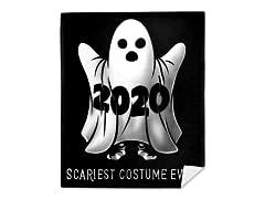 """""""Scariest Costume Ever"""" Mink Fleece Blanket"""