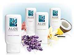Aloe Cadabra 4PK Scents and Flavors