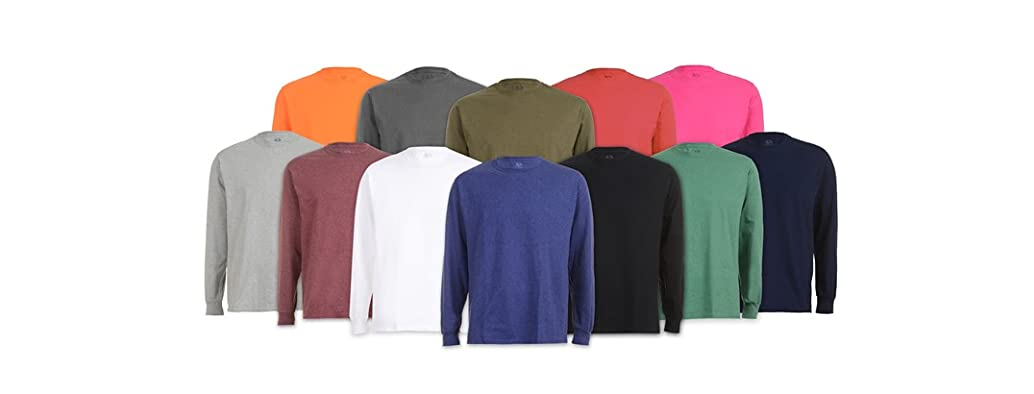 FOTL Men's Long Sleeve Tees 6-Pack