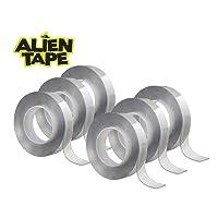 Deals on 6-Pk Alien Tape 7-ft Multi-Functional Reusable Double-Sided Tape