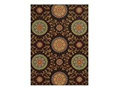 Brown Rug (5-Sizes)