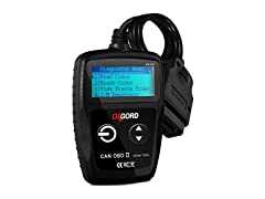 OxGord OBD2 Scanner Code Reader Diagnostic