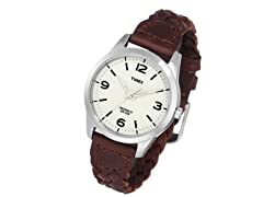 Timex Weekender, Women's Woven Leather