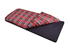 Children's Duvalay with Luxury Memory Foam Sleeping Bag