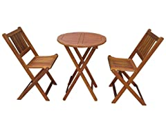 Merry Garden Bistro Table and Chair Set
