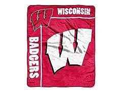 Wisconsin Plush Throw