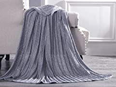 Amrapur Overseas Metallic Throw