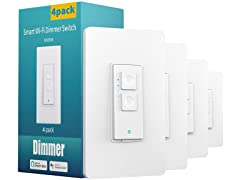 meross Smart Dimmer Switch (4-Pack)
