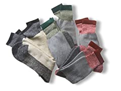 Men's Assorted Boot Socks 6 Pair Pack
