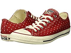 Converse Unisex Chuck Taylor Perforated Stars Low Top Sneak