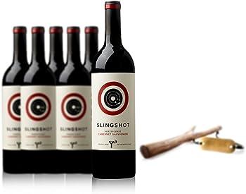 6-Pack Slingshot North Coast Cabernet Sauvignon Wine