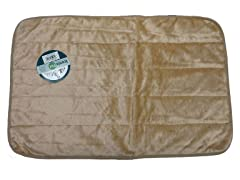 Premium Long Plush Crate Mat - Brown - 6 Sizes