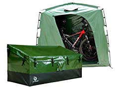 Outdoor Storage Box, XL - Green