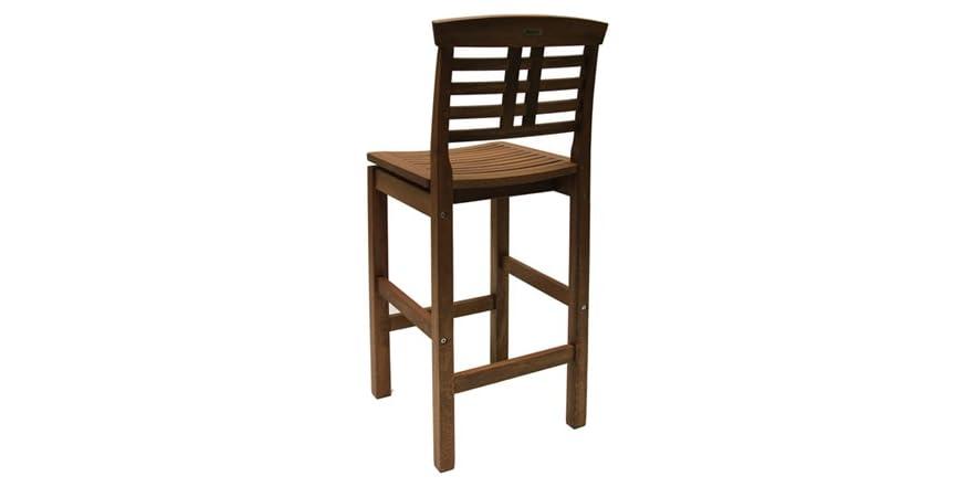 Eucalyptus Bar Chair With Full Backrest