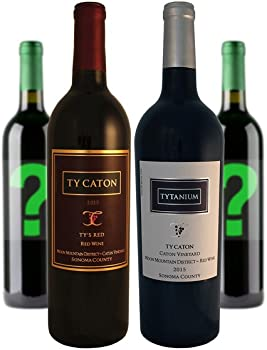 4-Pack Ty Caton Mixed Reds Wine