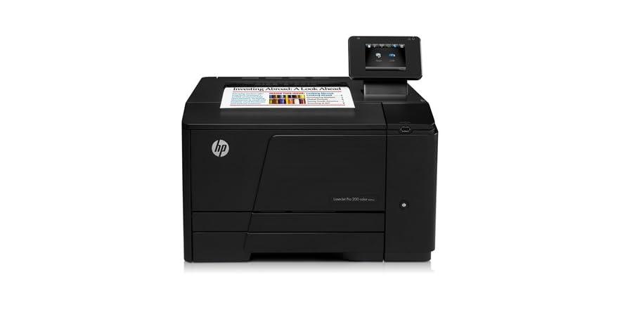 hp laserjet pro 200 color laser printer. Black Bedroom Furniture Sets. Home Design Ideas