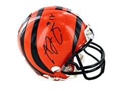 AJ Green Signed Cincinnati Bengals Mini