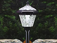 Westinghouse 4-piece Adonia Solar Pathlight Set