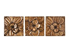 Magnolia 3-Piece Wall Panel Set