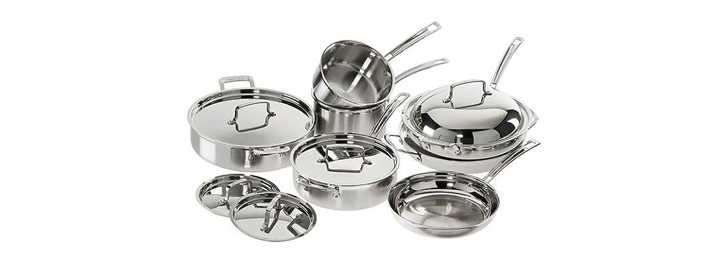 Cuisinart 12 PC MultiClad Pro Cookware Set