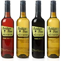 4-Pk. Outdoor Vino Summer Sampler