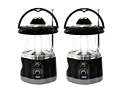 Multifunction Lantern w/ Built-in Flashlight (2-Pack)