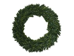 "Santa's Workshop 48"" Multi Pine Wreath"