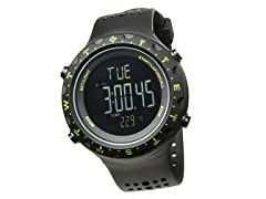 Men's Singletrak Blk/Green Digital Watch
