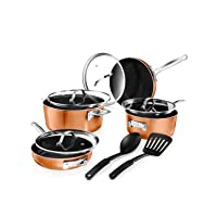 Deals on Gotham Steel 10 Piece 7-in & 9-in StackMaster Set