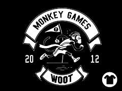 2012 Woot Monkey Games - Black
