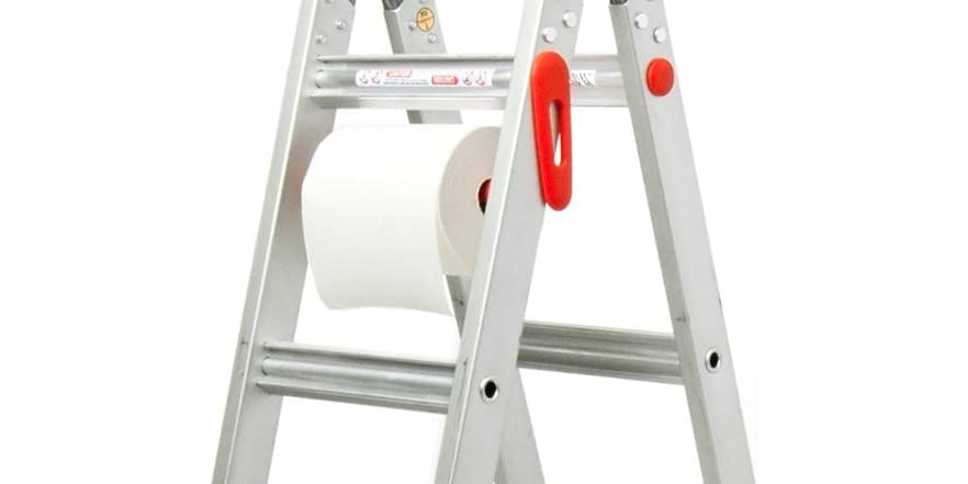 Features: The movable work platform fits on any rung and is designed to support up to lbs ( lbs for Type 1) of anything from paint to people. Our unique design makes it tuck away when not needed yet easily moved into place with your foot when needed. The Work Platform also functions as a spreader device for use with Little Giant Ladder Scaffold Feature.