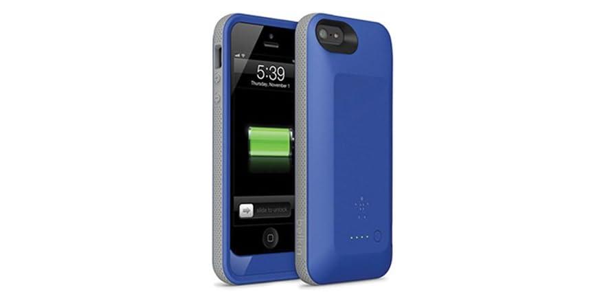 belkin 2000 mah iphone 5 5s battery case. Black Bedroom Furniture Sets. Home Design Ideas