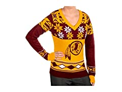 NFL Women's Sweater, Washington Redskins