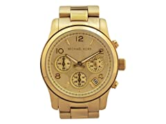 Michael Kors MK5055 Gold-Tone Chronograph Watch