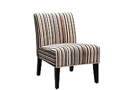 Sanibel Stripe Accent Chair