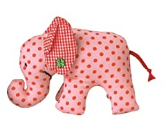 Mini Elefant Rose Rattle