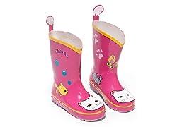 Lucky Cat Rain boot (7-10)
