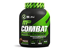 MusclePharm Combat Protein Powder, Chocolate Milk, 4lb