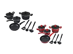 FRIGIDAIRE 10pcs Cookware Set - Pick Color