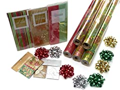Gold Holiday Wrap Assortment