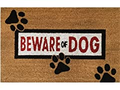 Outdoor Mat - Beware of Dog