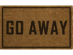 "FIESTA Go Away 18"" X 28"" Doormat"
