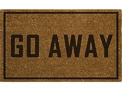 FIESTA Go Away Doormat