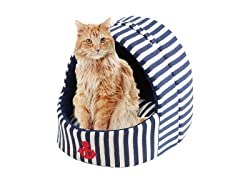 Dante Pet House Stripe Design Canvas