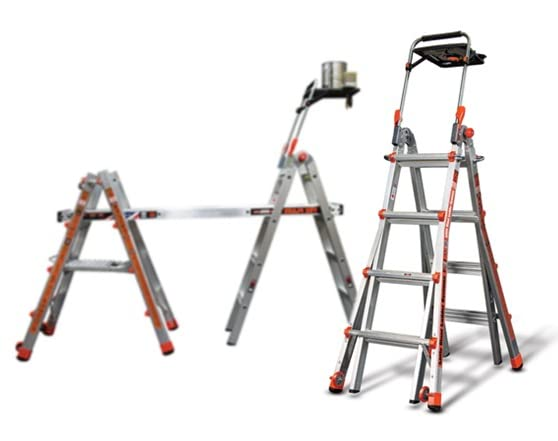 Little Giant 17 Ladder With Air Deck