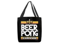 Beer Pong Champion Medium Tote Bag