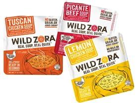 Wild Zora Soup Sampler