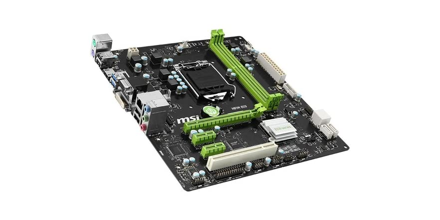 MSI Intel H81 LGA 1150 DDR3 USB 3.0 Micro ATX Motherboard